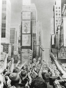 Laurie Lipton, pencil, drawing, Icon