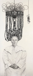 Laurie Lipton, pencil, drawing, Permanent