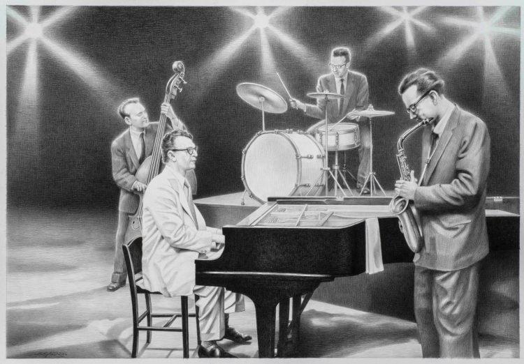 FOR A MUSIC ROOM, DAVE BRUBECK QUARTET