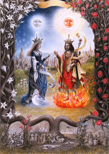 MOON QUEEN AND SUN KING